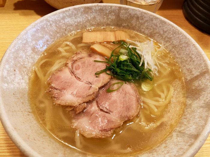 山崎麺二郎 塩ラーメン