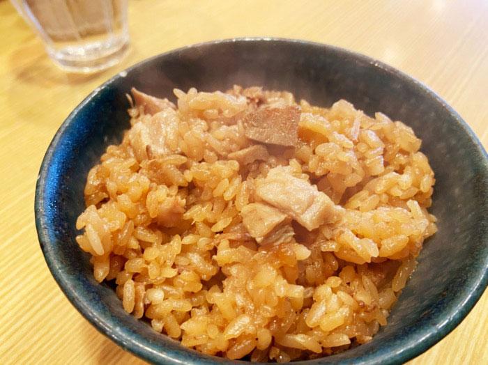 山崎麺二郎 チャーシューごはん