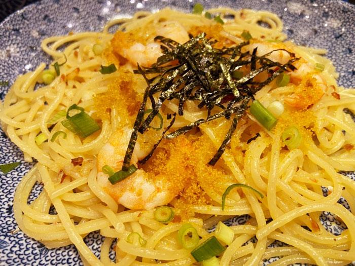洋麺屋五右衛門 蟹と海老と本カラスミのパスタ
